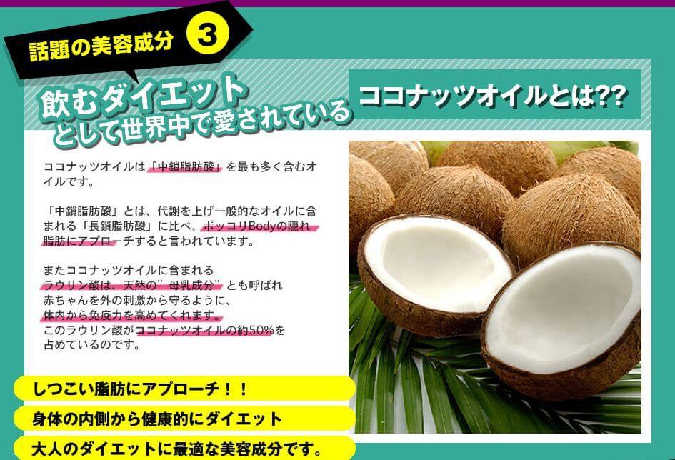 ココナッツオイル説明